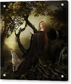 Gaia Greek Goddess Acrylic Print
