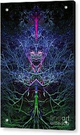 Gaia Acrylic Print by Tim Gainey