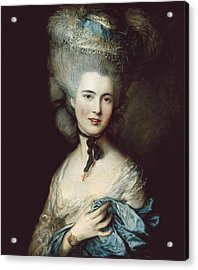 Gainsborough, Thomas 1727-1788. A Woman Acrylic Print