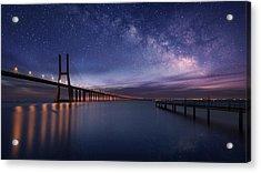 Galactic Bridge Acrylic Print