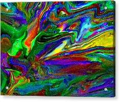 Galactic Storm Acrylic Print