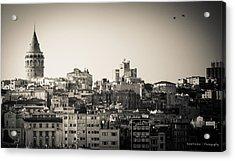 Galata Tower Acrylic Print