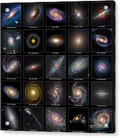 Galaxy Collection Acrylic Print