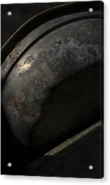 Acrylic Print featuring the photograph Galaxy In A Galvanized Pan by Rebecca Sherman