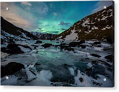 Gale-force Aurora H Acrylic Print