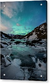 Gale-force Aurora V Acrylic Print