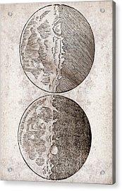 Galileo's Moon Observations Acrylic Print