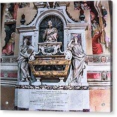 Galileo's Tomb Acrylic Print by Brian Gadsby