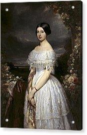 Gallait, Louis 1810-1887. Portrait Acrylic Print