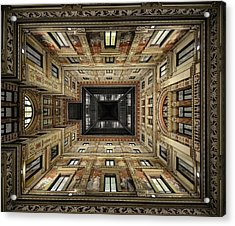 Galleria Sciarra Acrylic Print by Renate Reichert