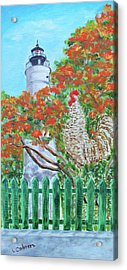 Gallo Pinto Rooster Acrylic Print