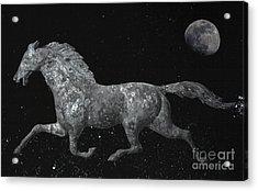 Galloping Through The Universe Acrylic Print by John Stephens