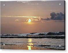 Galveston Island - Texas Acrylic Print by Michael Davis