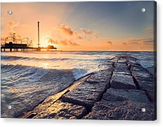 Galveston Sunrise Acrylic Print
