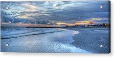 Galveston Sunset Acrylic Print