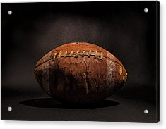 Game Ball Acrylic Print by Peter Tellone