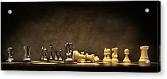 Game Over Acrylic Print by Don Hammond