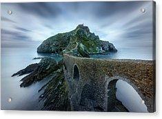 Games Of Thrones - Dragonstone Island -san Juan De Gaztelugatxe Acrylic Print by Jes?s M. Garc?a