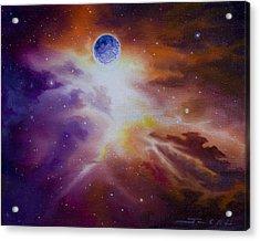 Gamma Nebula Acrylic Print by James Christopher Hill