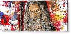 Gandalf Acrylic Print by Anastasis  Anastasi