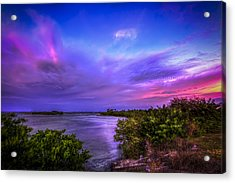 Gandy Lagoon 2 Acrylic Print by Marvin Spates