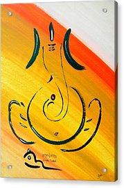 8 Ganesh Ekdhantaya Acrylic Print by Kruti Shah