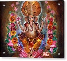 Ganesh Acrylic Print by Vera Atlantia