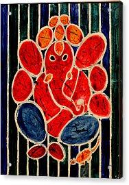 Ganesha-3 Acrylic Print