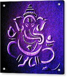 Ganesha Ganpathi Acrylic Print