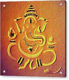 Ganesha Pietyz Acrylic Print