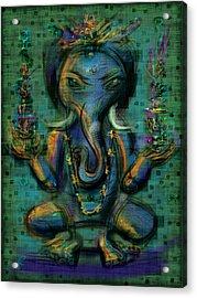 Ganesha Too Acrylic Print by Russell Pierce