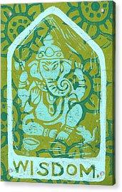 Ganesha Wisdom  Acrylic Print