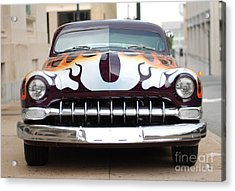 Gangster Car Acrylic Print by Jt PhotoDesign