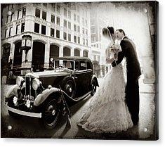 Gangster Wedding Acrylic Print