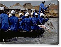 Ganvie - Lake Nokoue Acrylic Print