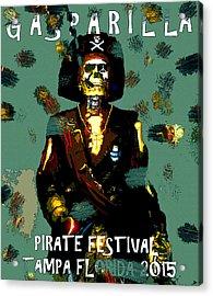 Gasparilla Pirate Fest 2015 Full Work Acrylic Print by David Lee Thompson