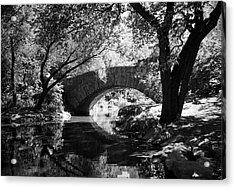 Gapstow Bridge Acrylic Print by Cornelis Verwaal