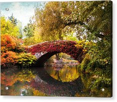 Acrylic Print featuring the photograph Gapstow Bridge  by Jessica Jenney