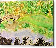 Gapstow Acrylic Print