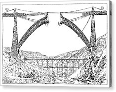Garabit Viaduct Acrylic Print
