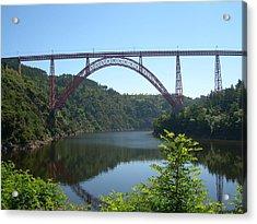 Garabit Viaduct Acrylic Print by Tommy Budd