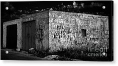 Acrylic Print featuring the photograph Garage by Julian Cook