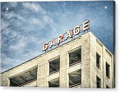 Garage Acrylic Print by Scott Norris