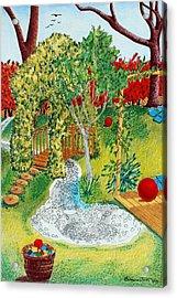 Garden # 1 Acrylic Print