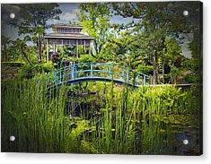 Garden At Houmas House Plantation La Dsc04584 Acrylic Print