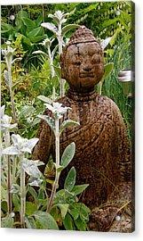 Garden Buddha Acrylic Print