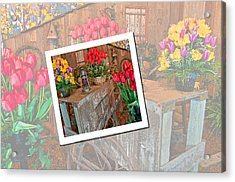 Garden Cart Out To Lunch Acrylic Print