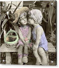 Garden Children Acrylic Print