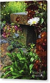 Garden Color Acrylic Print