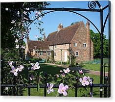 Garden  Cottage Acrylic Print by Stephen Norris